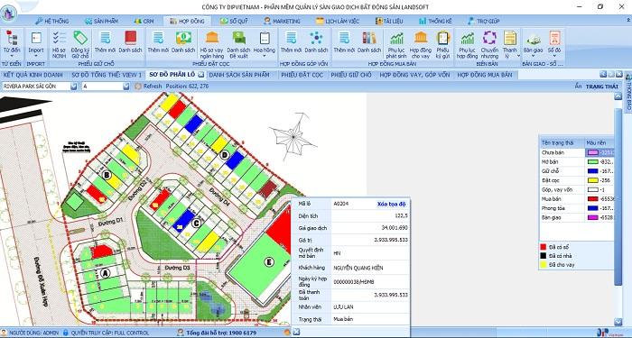 Beegreen nâng cao quản lý đất nghĩa trang với phần mềm quản lý bất động sản Landsoft