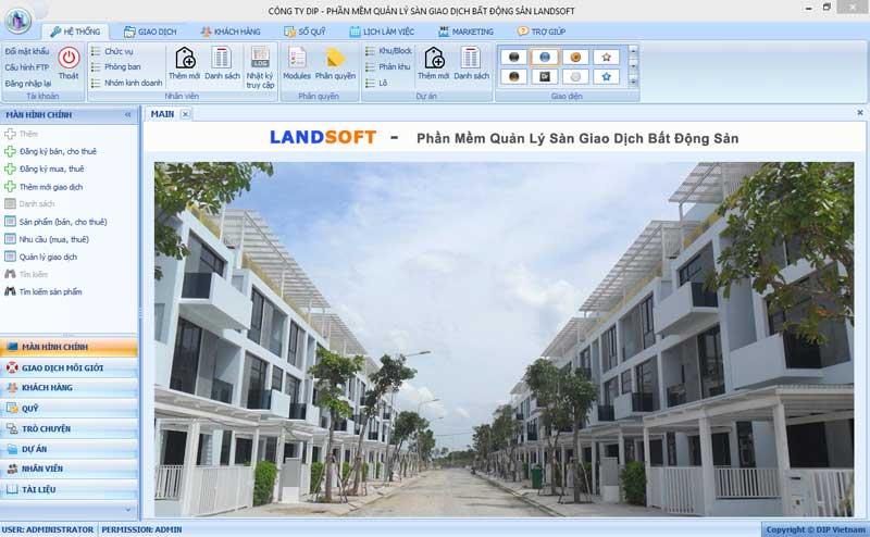 Ứng dụng phần mềm quản lý bất động sản Landsoft tác động thế nào tới thị trường bất động sản ?
