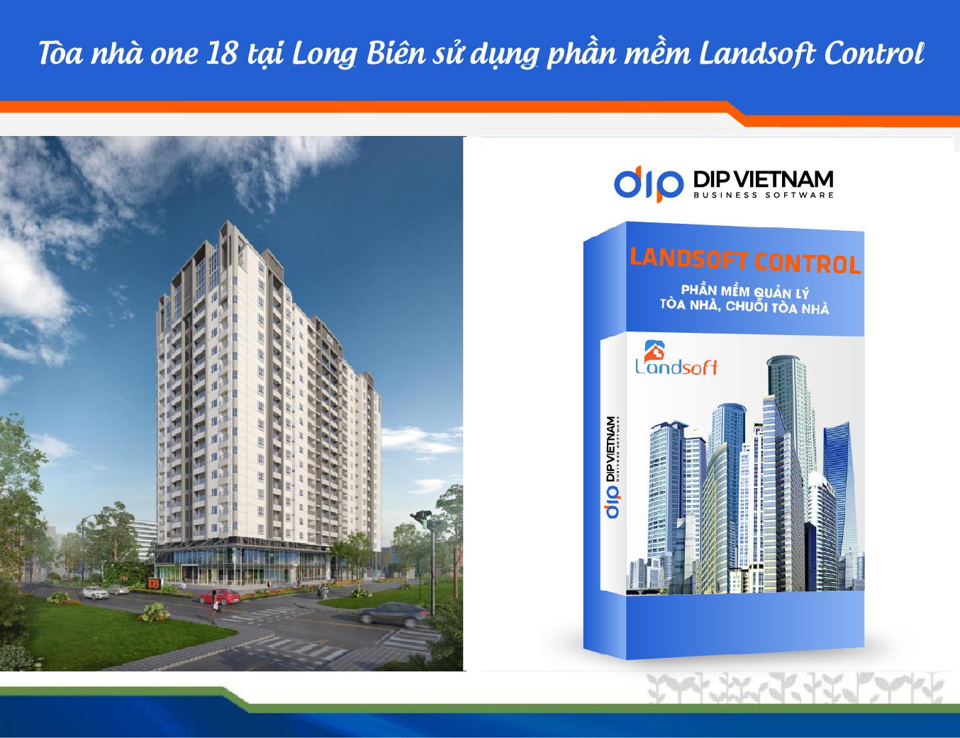 Tòa nhà The One 18 nâng cao quản lý dịch vụ hiệu quả hơn với phần mềm Landsoft Control
