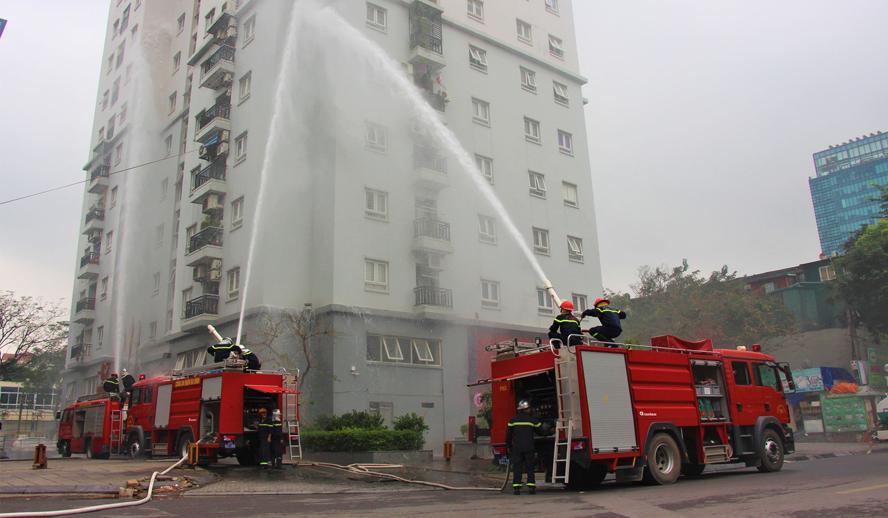 Công tác phòng cháy chữa cháy tại nhiều chung cư đang bị bỏ ngỏ - Ban quản lý tòa nhà cần làm gì ?