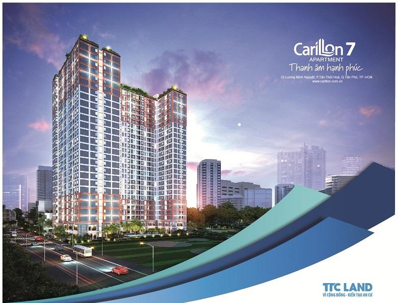 Dự án căn hộ Carillon của TTC Land đang tạo sức hút trên thị trường bất động sản Tp HCM