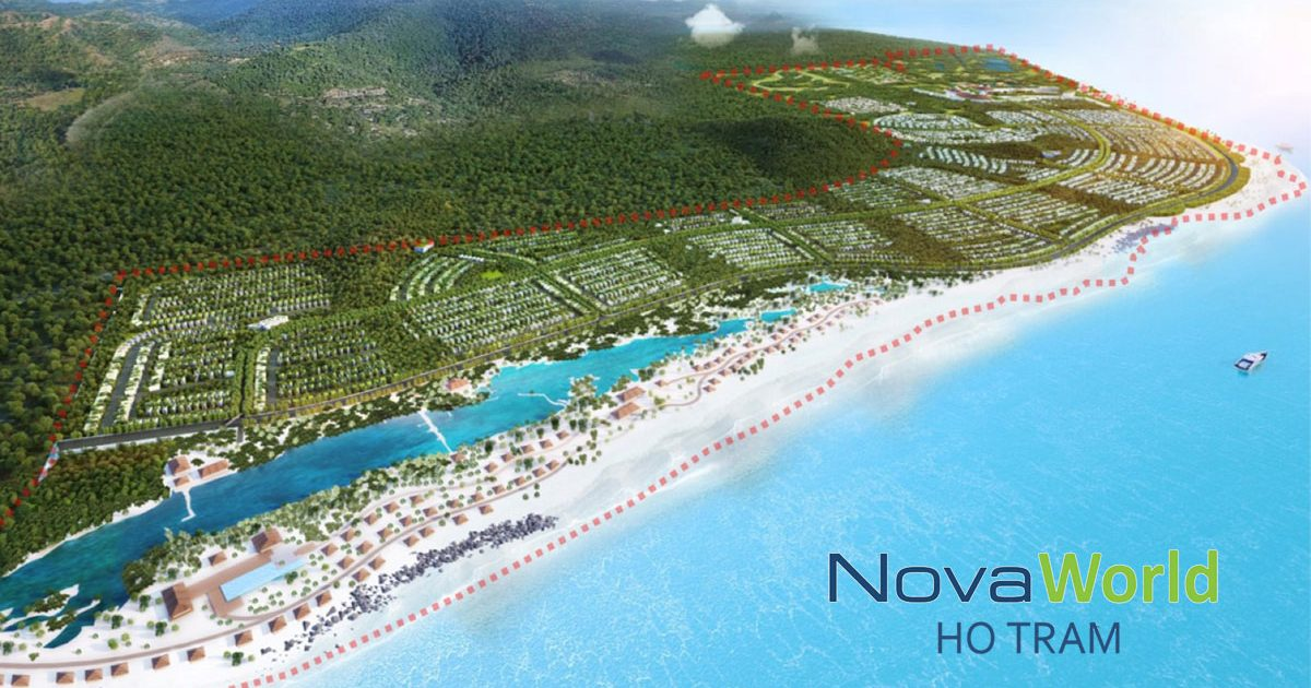 Dự án NovaWorld Hồ Tràm của Novaland có gì hấp dẫn giới đầu tư ?