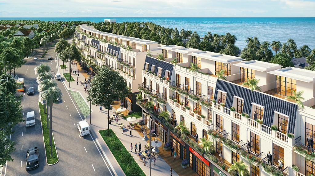 Phân khúc Shophouse ven biển có sức hấp dẫn thế nào với giới đầu tư bất động sản ?