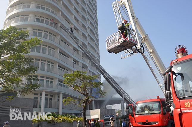 Ban quản lý tòa nhà có nên tổ chức tập huấn phòng cháy chữa cháy cho tòa nhà chung cư ?